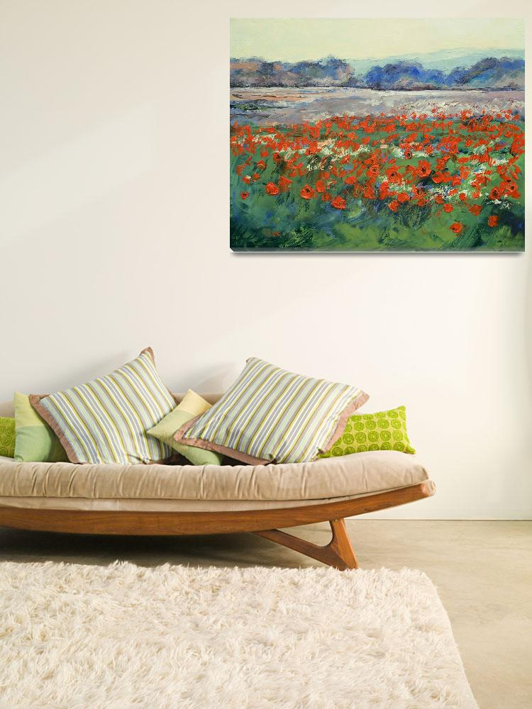 """Poppies in Flanders Fields&quot  by creese"