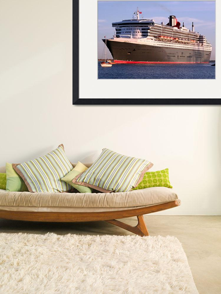 """""""Queen Mary 2 Cruise Ship&quot  by FranWest1"""