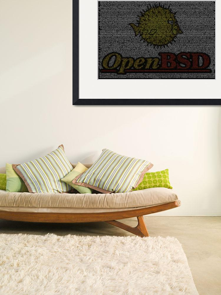 """OpenBSD Source Poster&quot  (2010) by 0xfe"