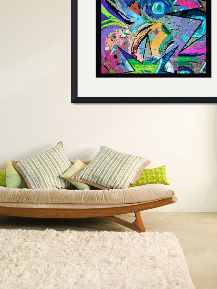 """""""Abstract Splash""""  (2011) by paintingsbygretzky"""