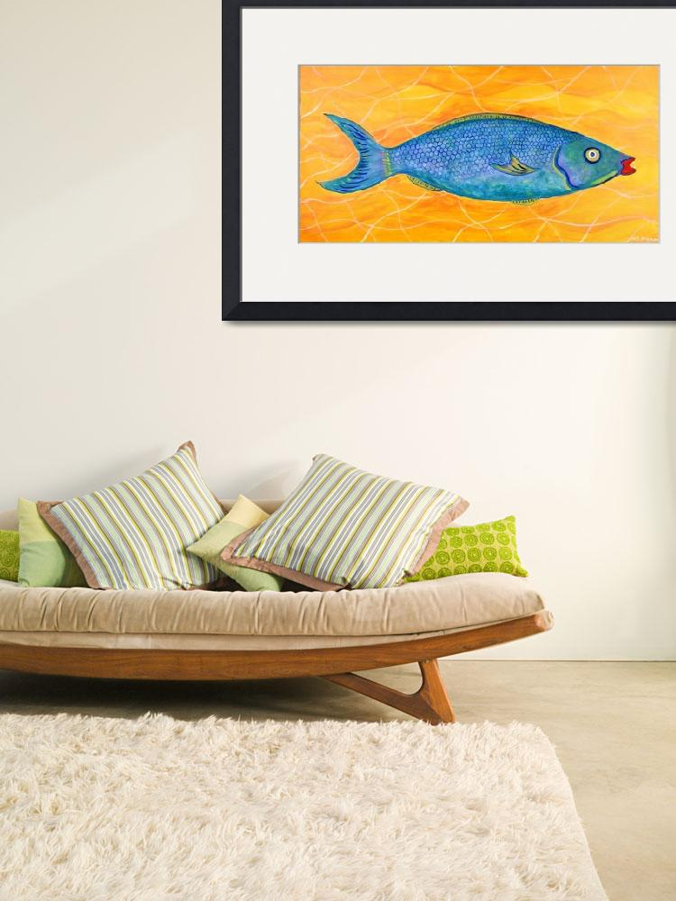 """""""PARROT FISH&quot  (2014) by mrmizener"""