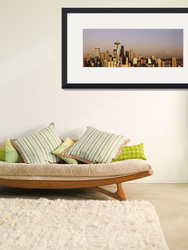 """""""Seattle&quot  by IK_Stores"""