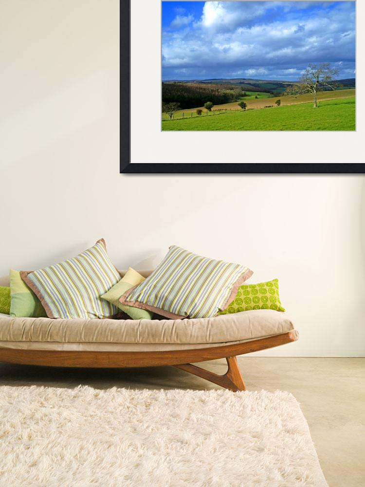 """""""South Downs from Goodwood 2&quot  by jamesjagger"""