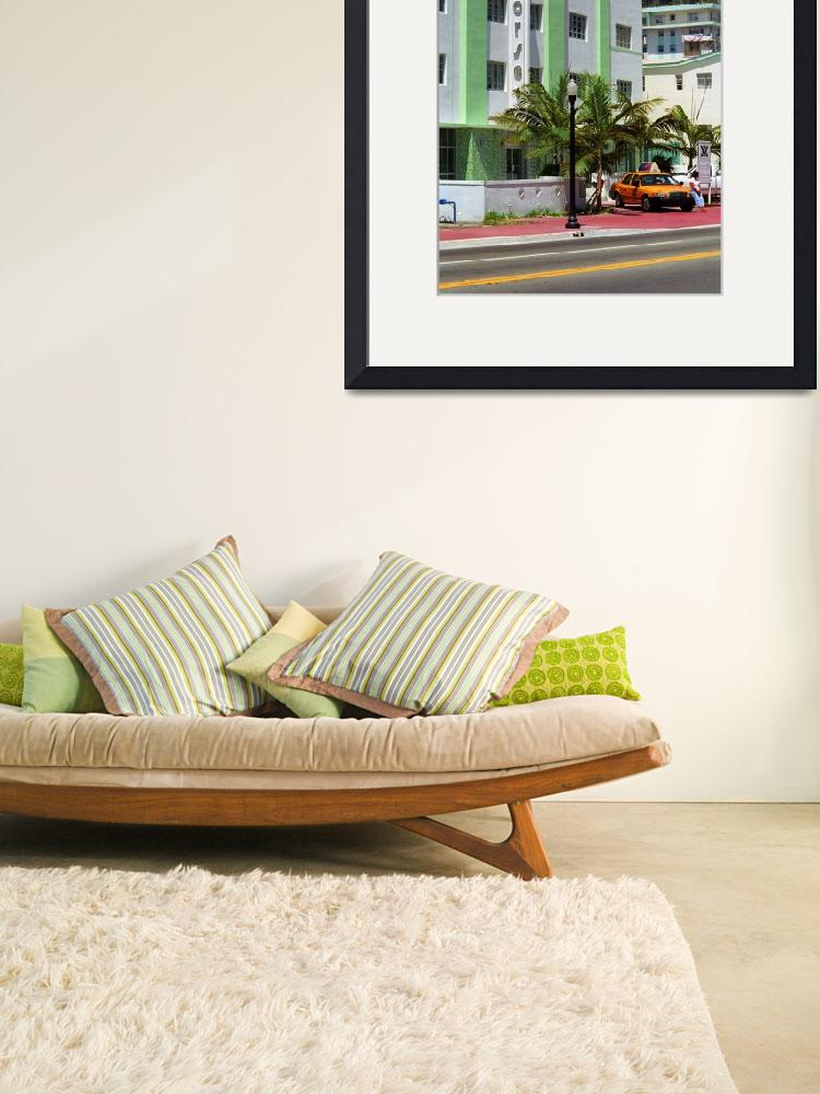 """""""Miami Beach - Art Deco 2003""""  (2003) by Ffooter"""