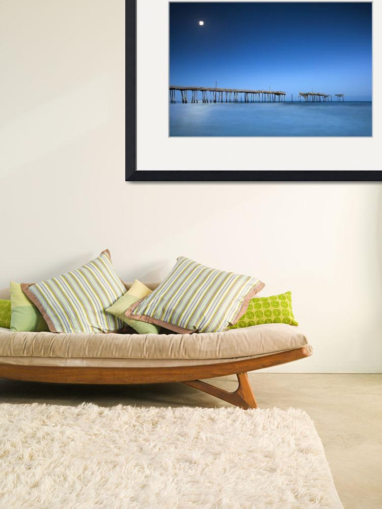 """""""Frisco Pier Cape Hatteras Outer Banks NC - Crossin""""  (2012) by DAPhoto"""
