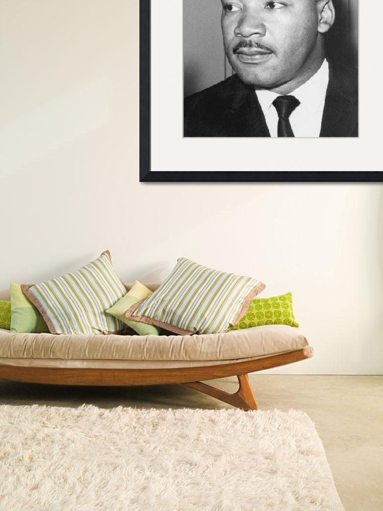 """""""Martin Luther King  Jr (1929-68). American black c&quot  by fineartmasters"""