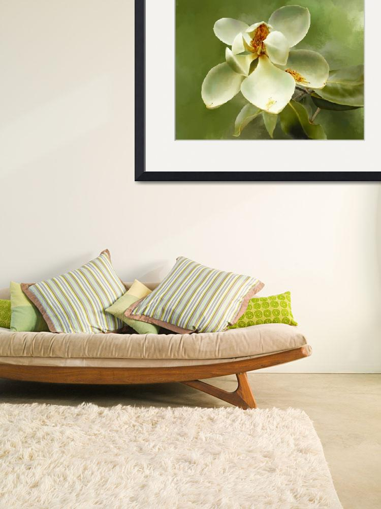 """""""Magnolia 09 painting&quot  (2007) by mknzedesigns"""