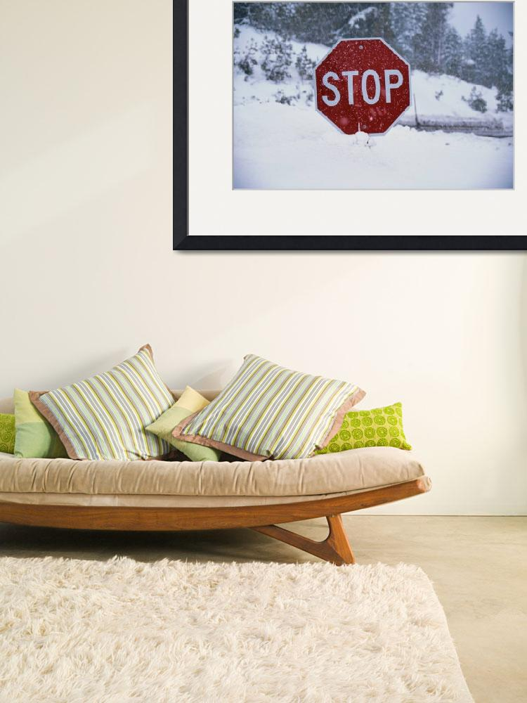"""""""Stop Sign&quot  by Panoramic_Images"""
