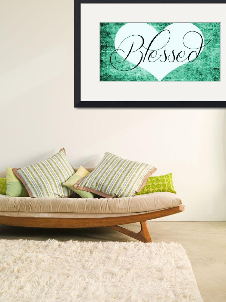 """""""blessed heart green""""  by lizmix"""
