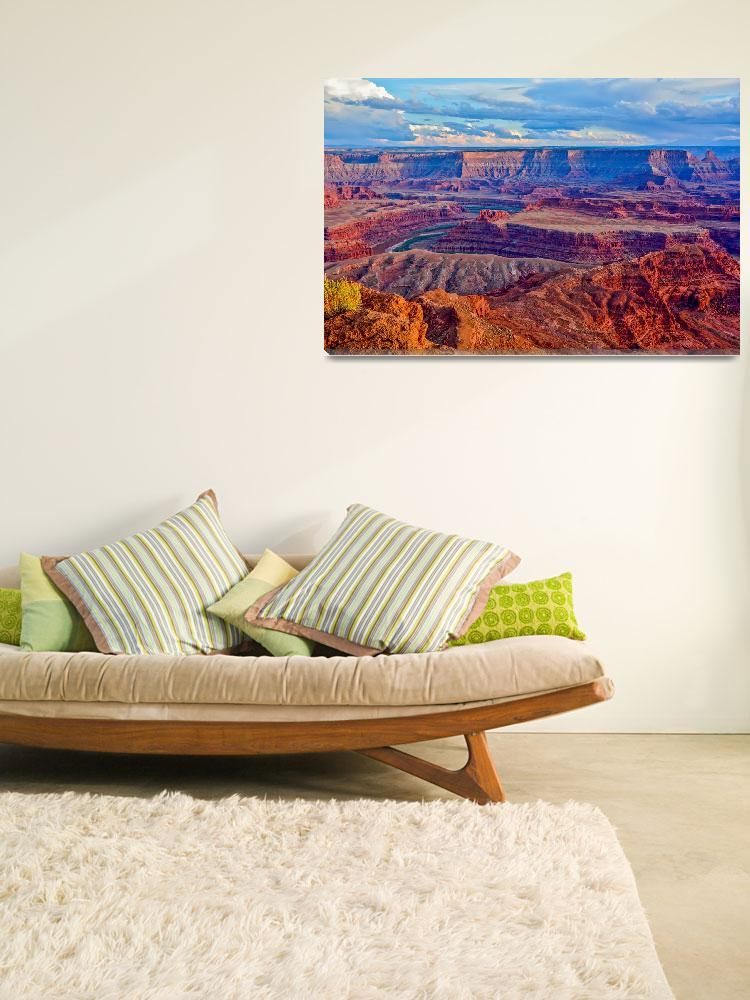 """Dead Horse Canyonlands View""  (2015) by Fitforeverphotography"