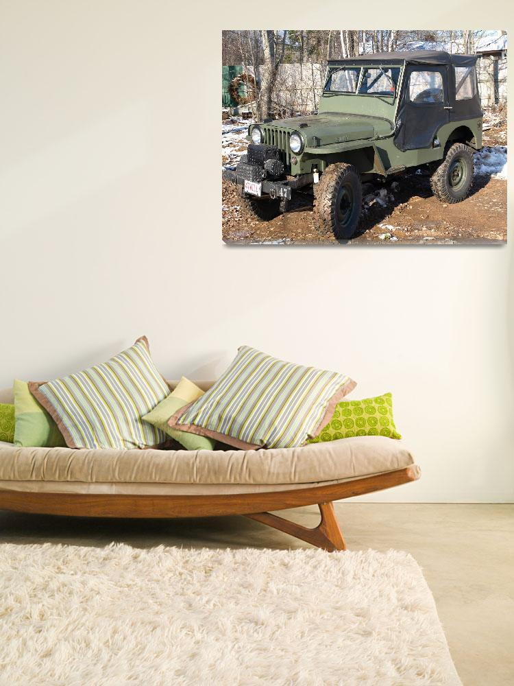 """1947 military jeep""  (2009) by Albertphoto"