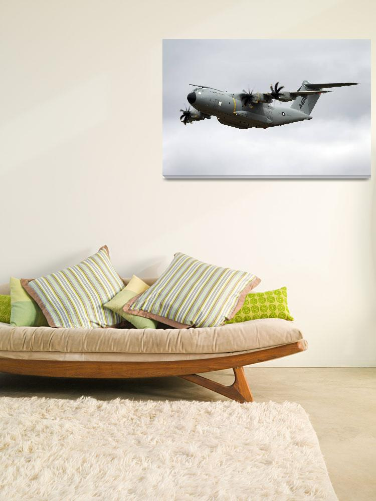 """Airbus Military A400M demonstrator EC-402 aircraft&quot  (2010) by AndrewHarker"