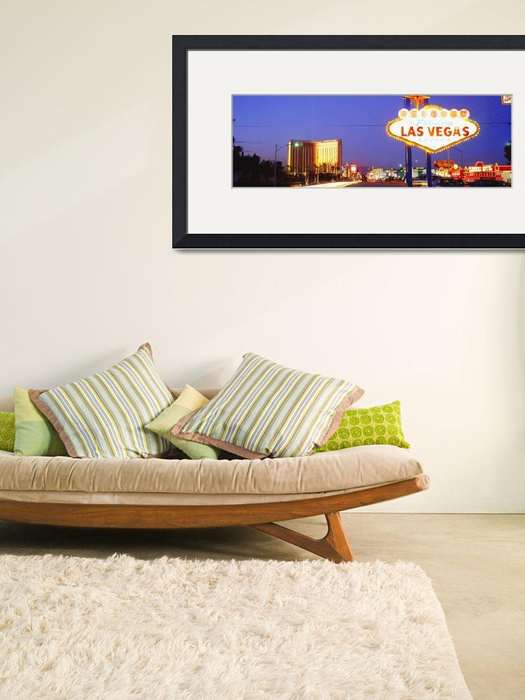 """""""Welcome Sign Las Vegas NV&quot  by Panoramic_Images"""