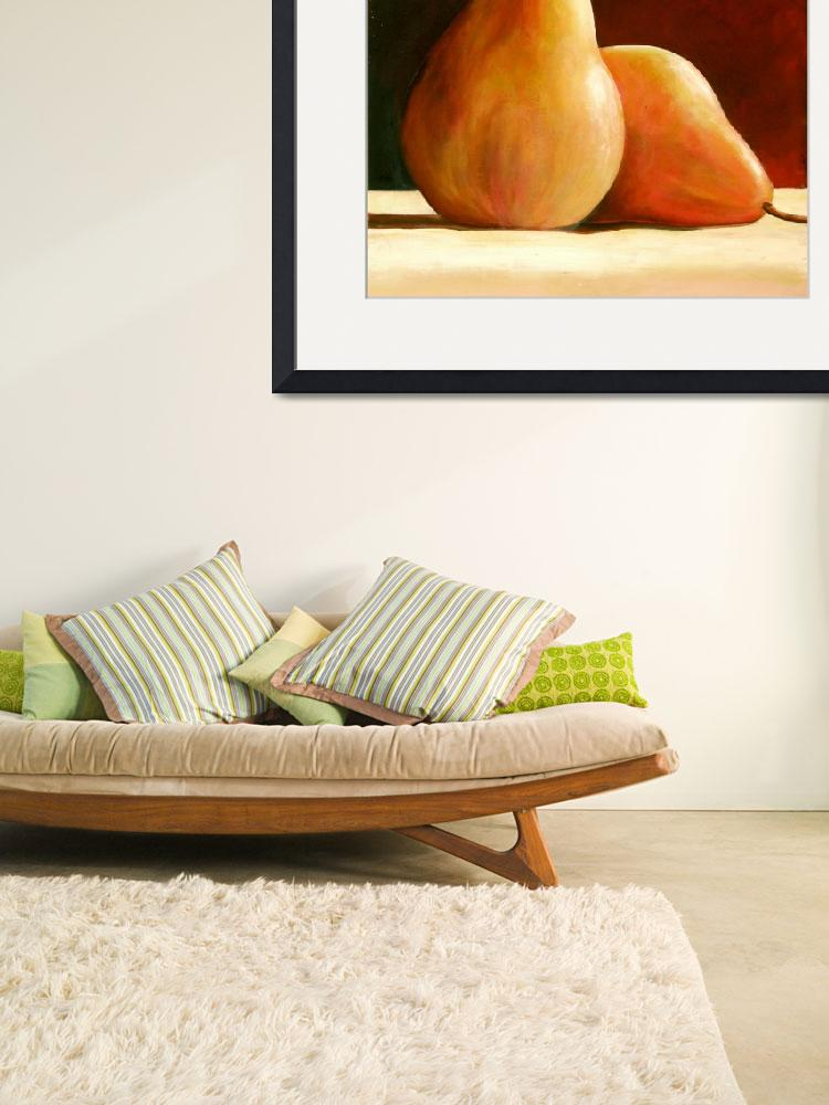 """""""PAIR OF PEARS&quot  (2008) by ToniGrote"""