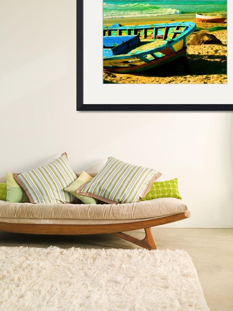 """""""Boats in the Sand&quot  (2007) by rayjacque"""