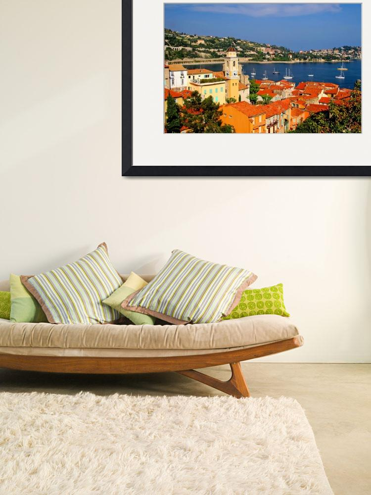 """Harbor scene on the French Riviera&quot  (2008) by marywhitmer"