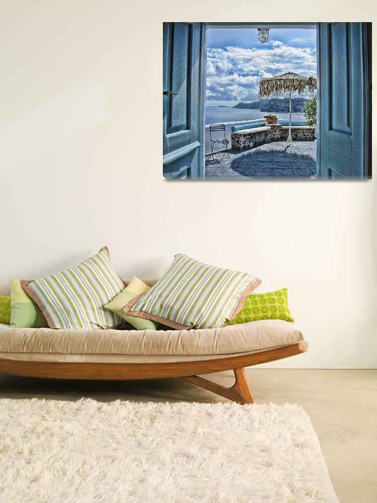 """""""Room with a view""""  (2009) by artforcancer"""