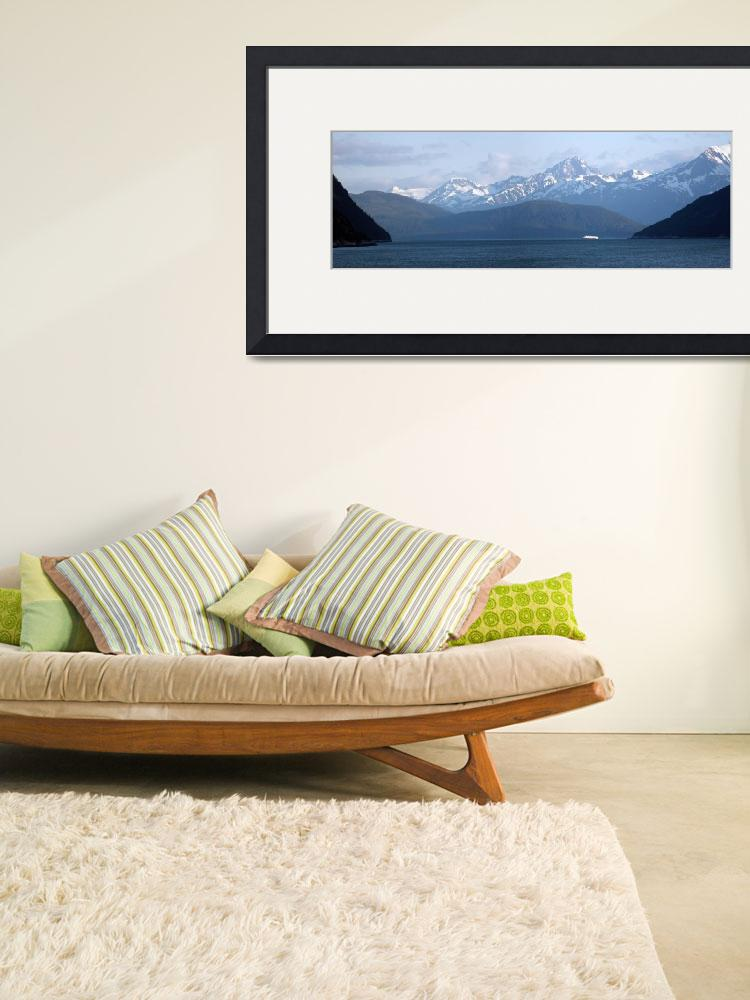 """""""Mountains of the """"Inside Passage"""" outside of Skagw&quot  by JosephKravis"""