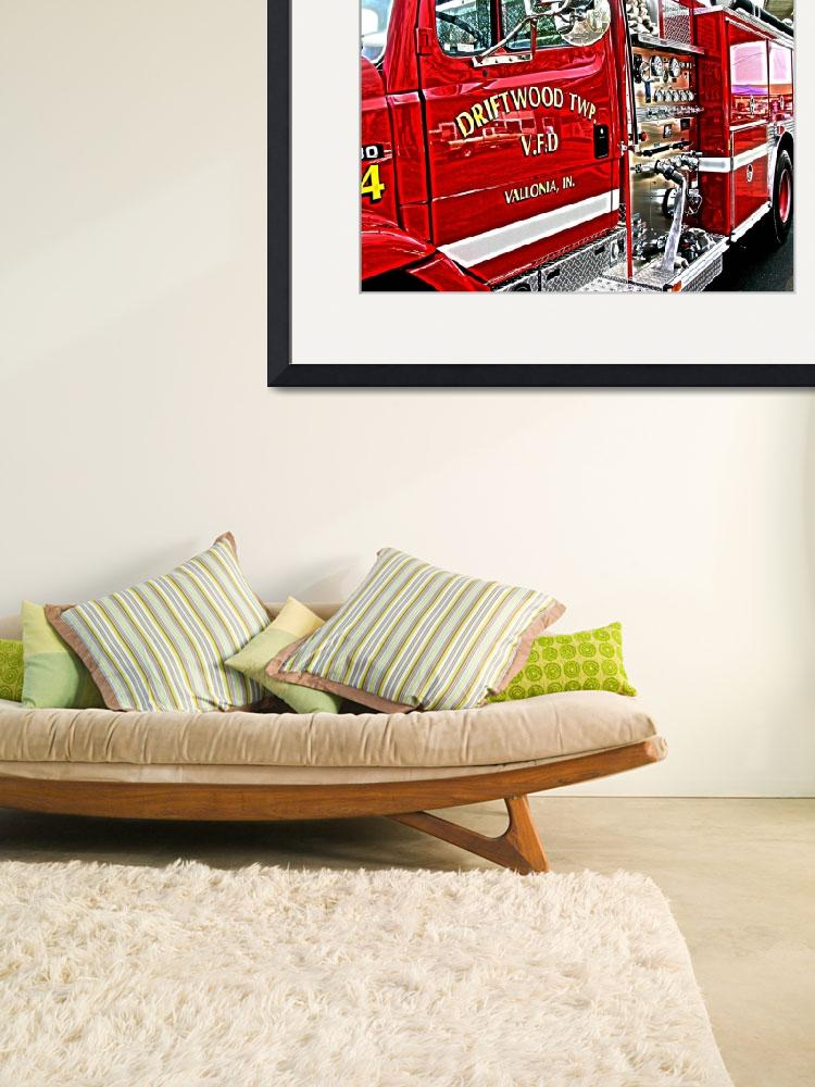 """firetruck&quot  (2002) by studiobrian"