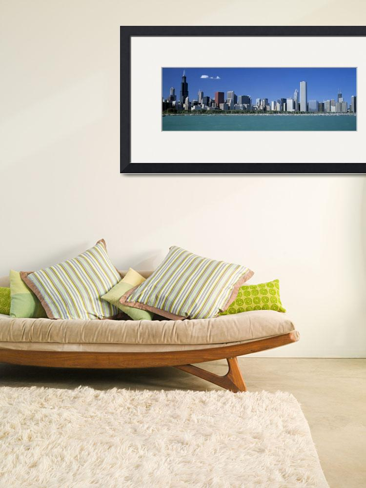 """""""Skyline Chicago IL&quot  by Panoramic_Images"""