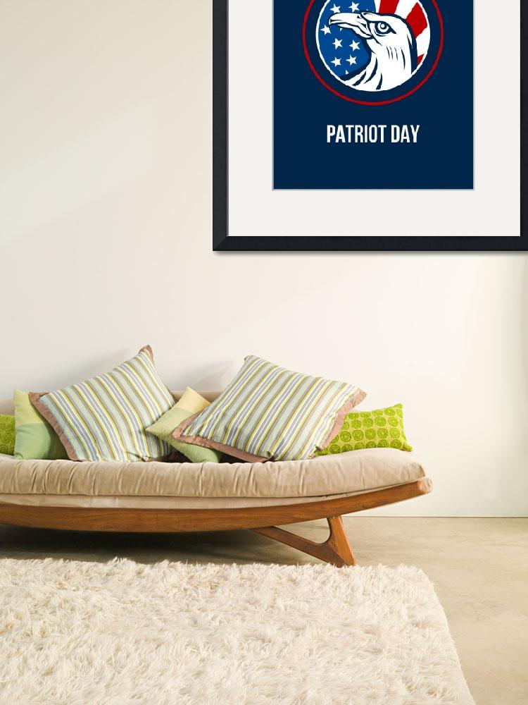 """""""Remember 911 Patriots Day Poster""""  (2014) by patrimonio"""