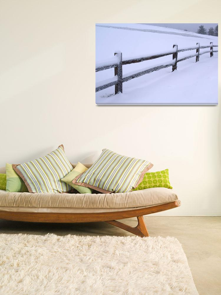 """""""Rail Fence""""  (2008) by staplesphoto"""