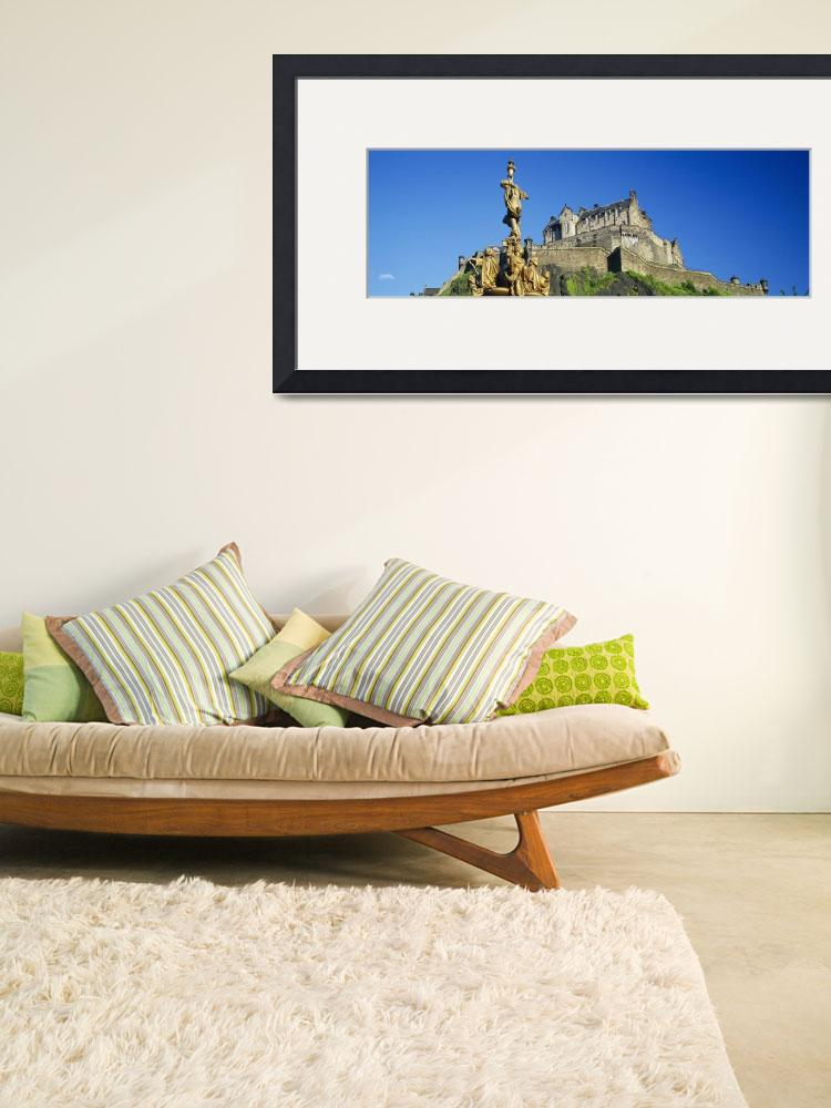 """""""Low angle view of a castle on a hill&quot  by Panoramic_Images"""
