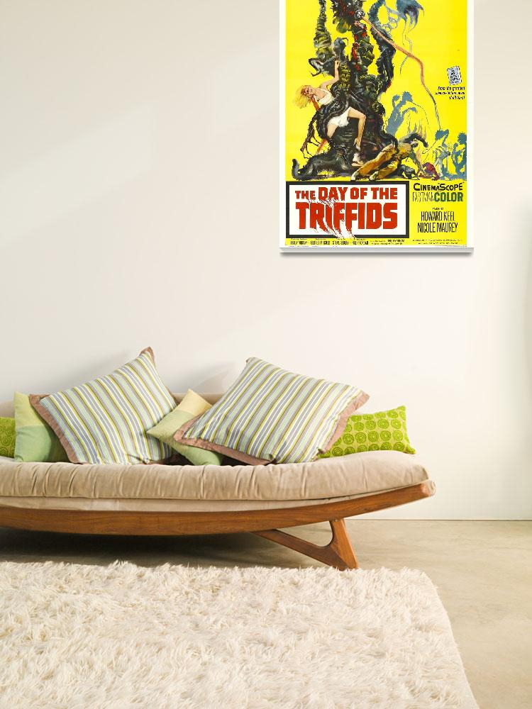 """Day of The Triffids Movie Poster&quot  by Alleycatshirts"