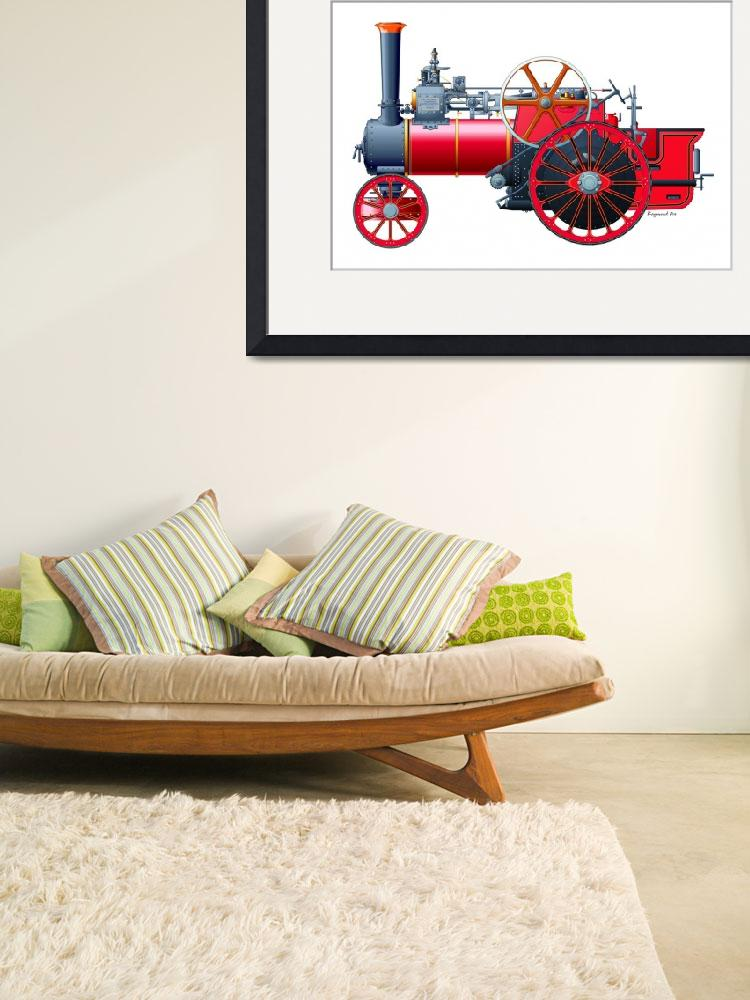 """Allchin Traction Engine&quot  by RaymondOre"