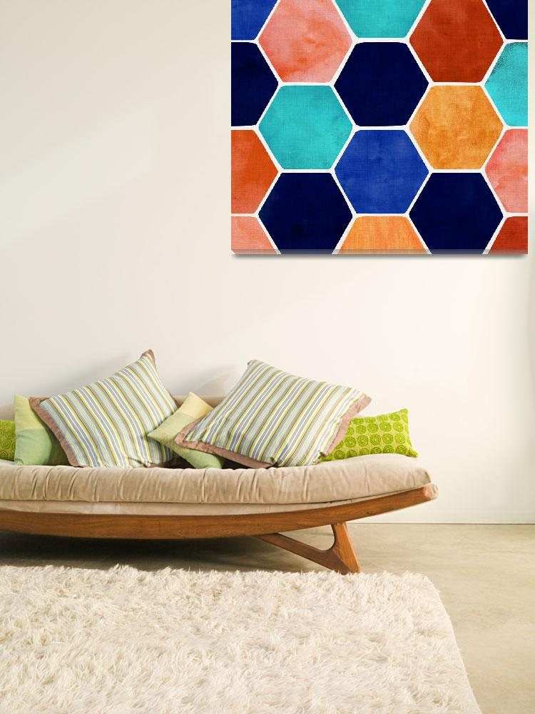 """""""Painted Terra Cotta""""  by moderntropical"""