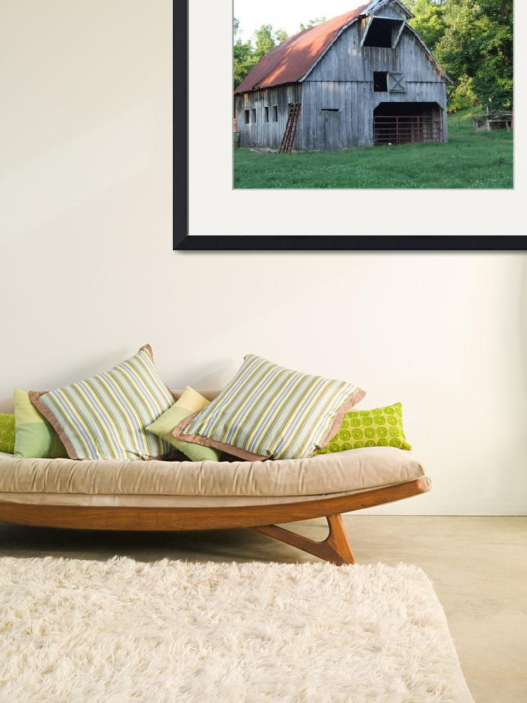"""""""Rustic Barn""""  (2009) by Hartphotography"""