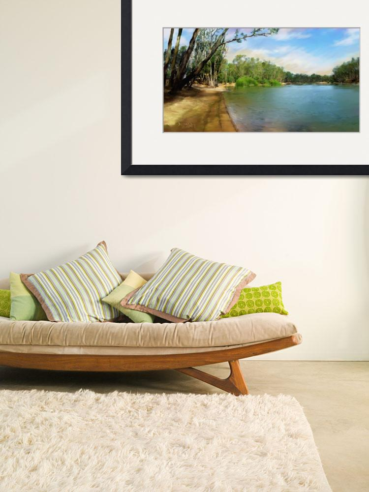 """""""Tocumwal Boat Ramp&quot  by LeonD"""