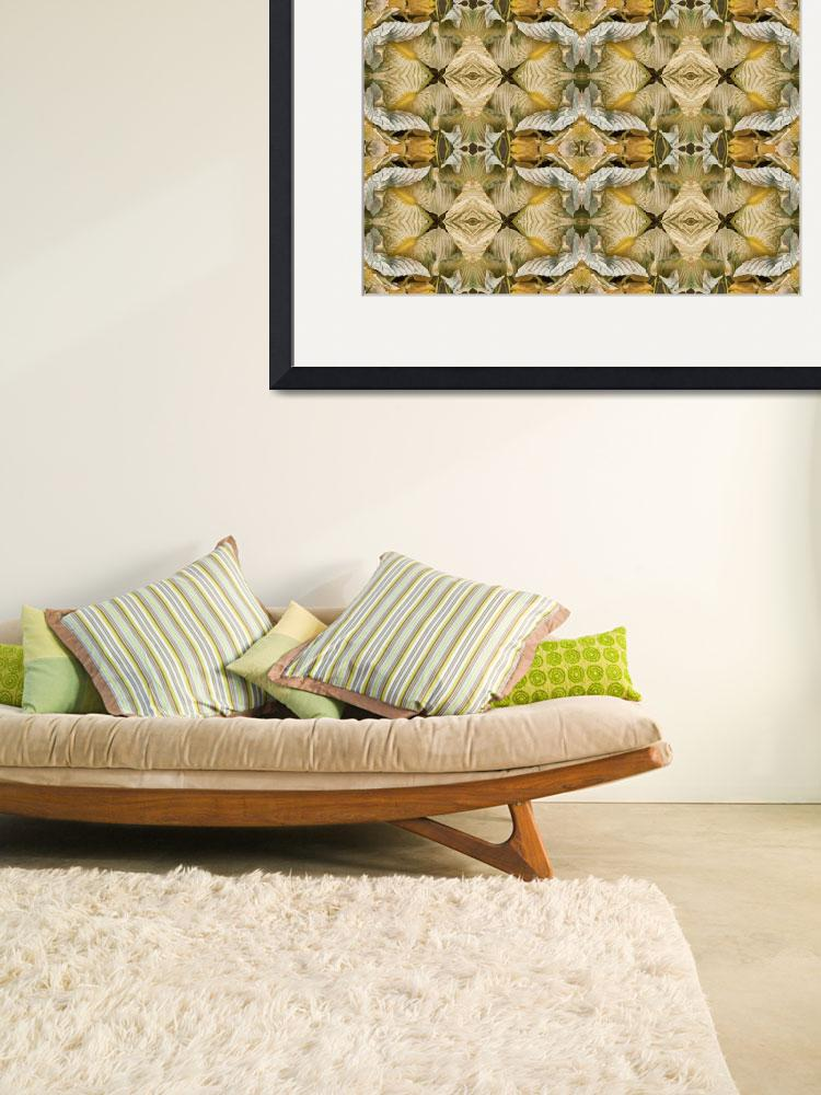 """""""Folded Hosta Grid&quot  (2010) by RussMartinPhotography"""