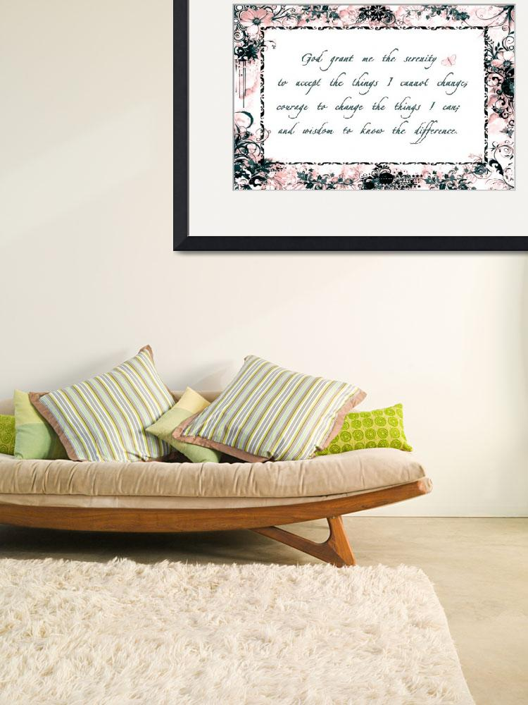 """""""serenity frame pink gray&quot  by lizmix"""