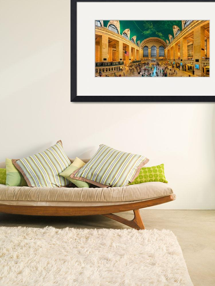 """""""Grand Central Station Panorama&quot  (2015) by ElenaParaskeva"""