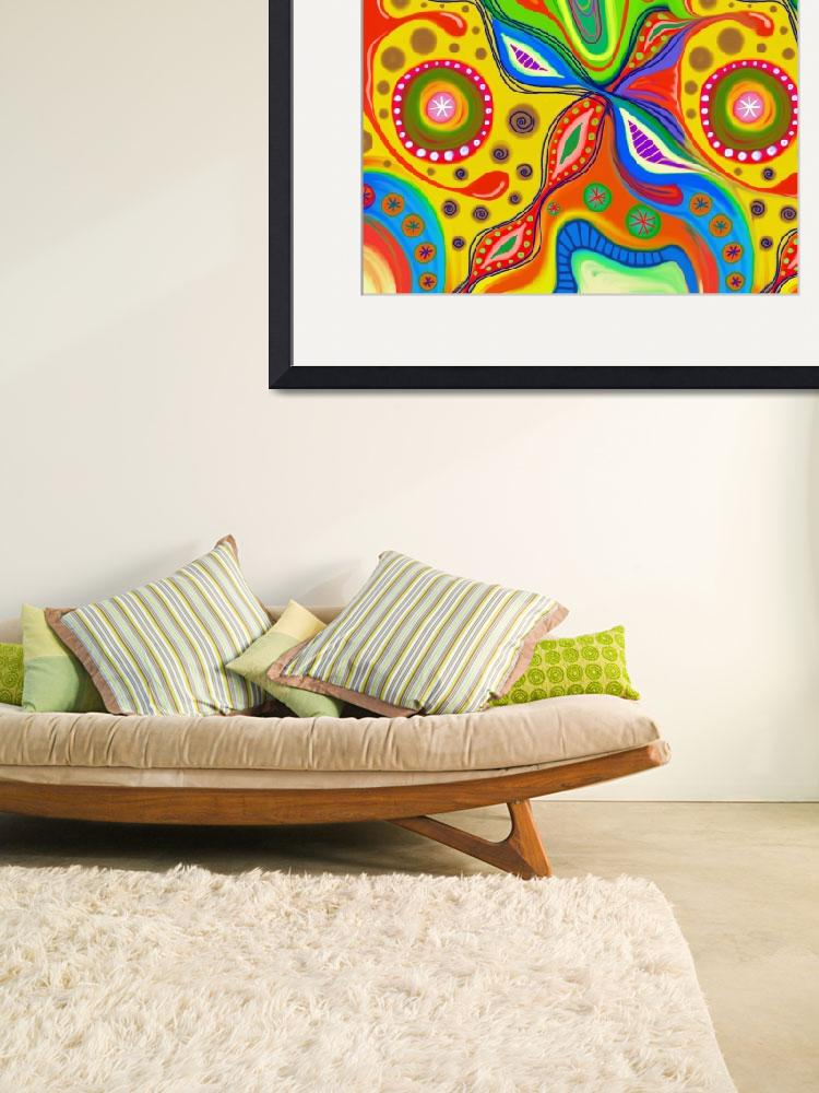 """""""ABSTRACT_pattern-doodle002&quot  by Prawny"""