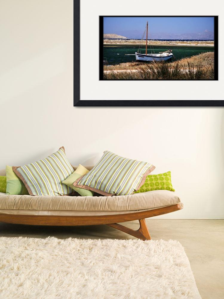 """""""boat in Delos&quot  by andreea_gerendy"""