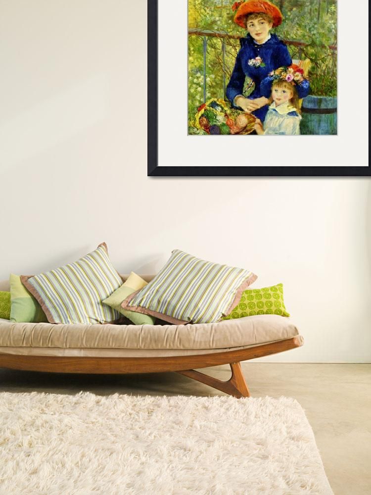 """""""RENOIR ON THE TERRACE&quot  by homegear"""