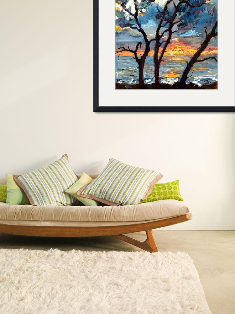 """""""Jekyll Island View From My Balcony SUNRISE&quot  (2004) by GinetteCallaway"""