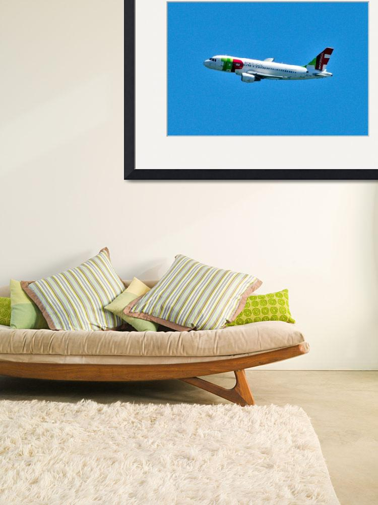 """""""TAP A319, CS-TTD, Turning&quot  (2009) by JoaoPonces"""