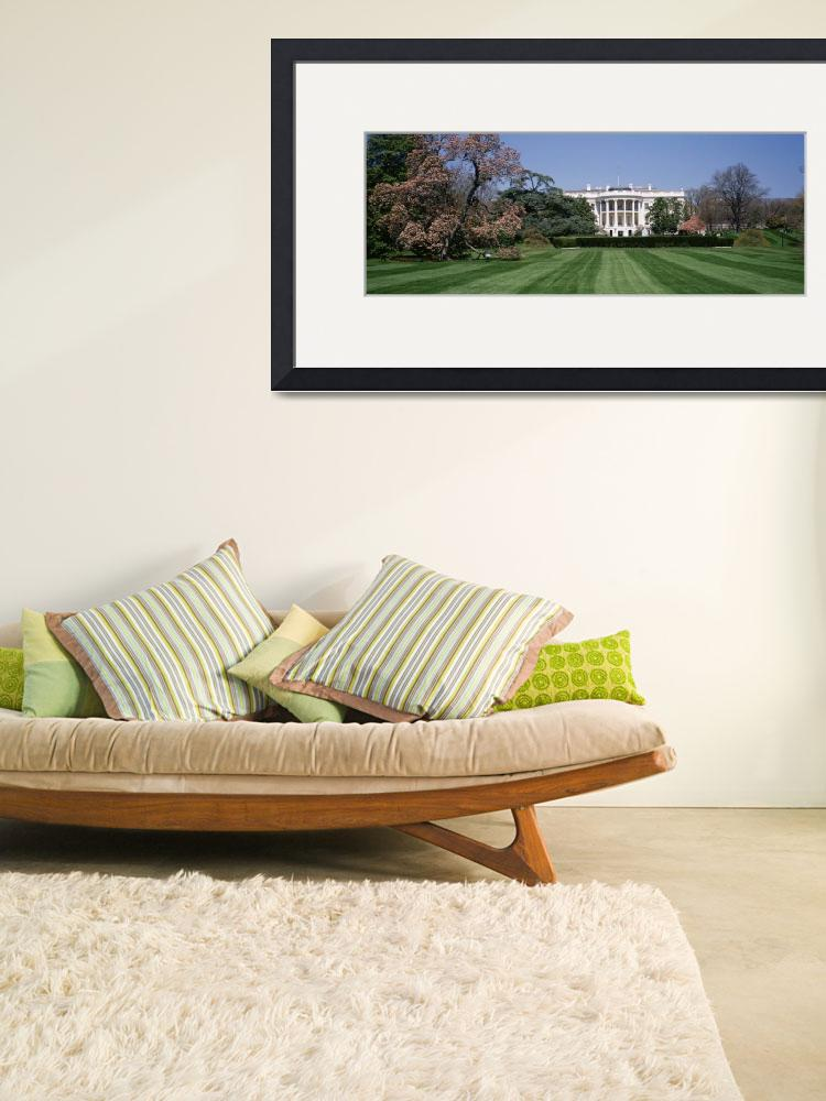 """""""Lawn in front of the White House""""  by Panoramic_Images"""