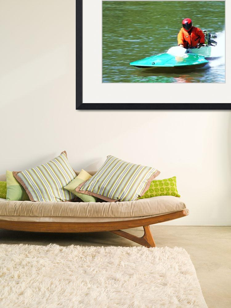 """""""mini race boat&quot  (2010) by ART4YOUR2EYES"""
