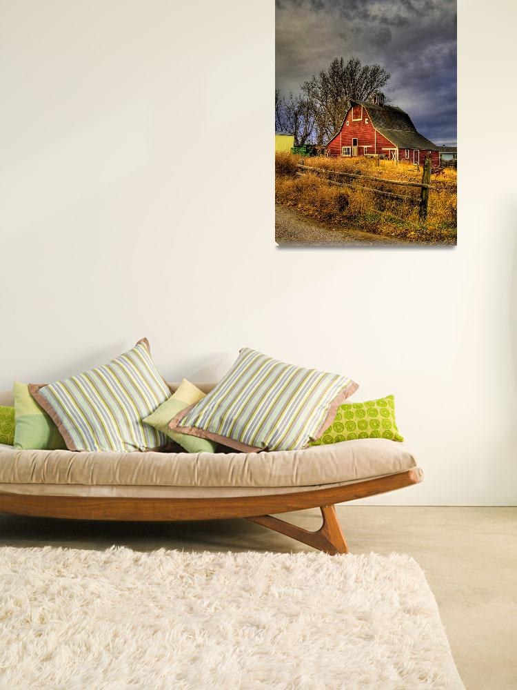"""""""Red Barn&quot  by jpat"""