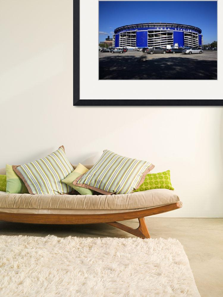 """""""Shea Stadium - New York Mets&quot  (2008) by Ffooter"""