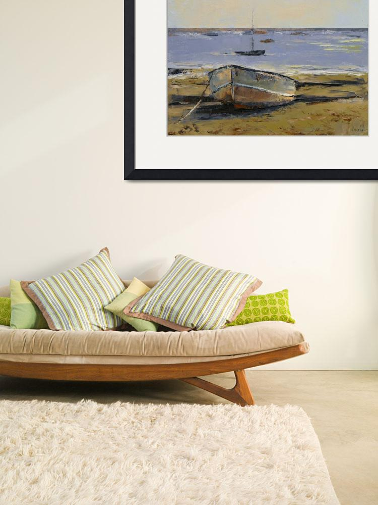 """""""Boats in Provincetown Harbor&quot  by creese"""