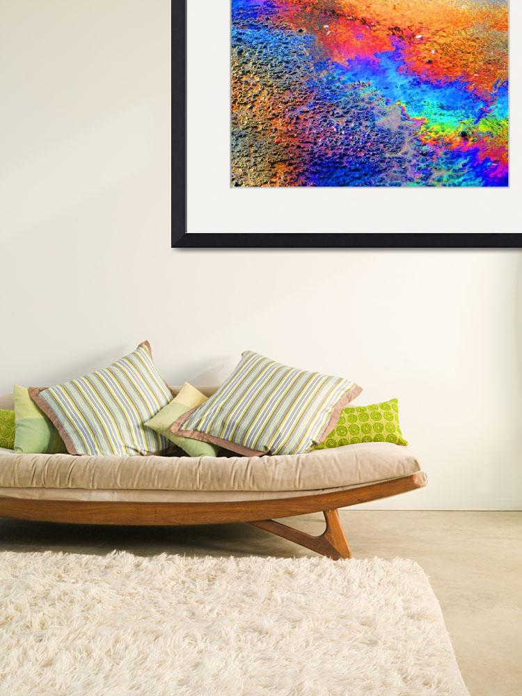 """""""Abstract ~ Oil Spill Remix 1 (#373)&quot  (2009) by protophotogsl"""