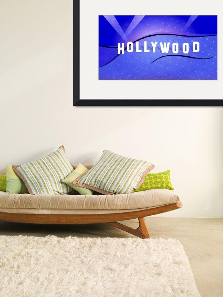 """""""Hollywood Sign - Pop Art&quot  (2015) by wcsmack"""