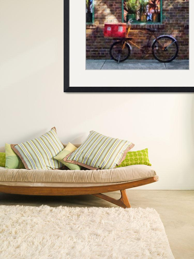 """Delivery Bicycle Greenwich Village&quot  (2011) by susansartgallery"