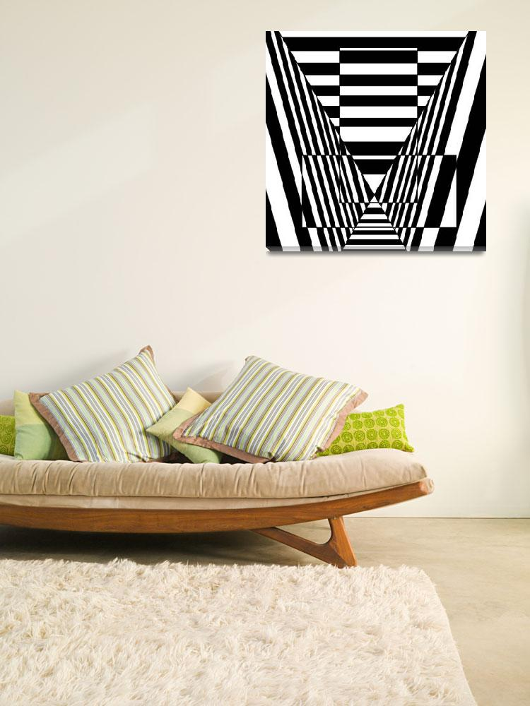 """""""Optical Illusion Valley""""  (2012) by Casino"""