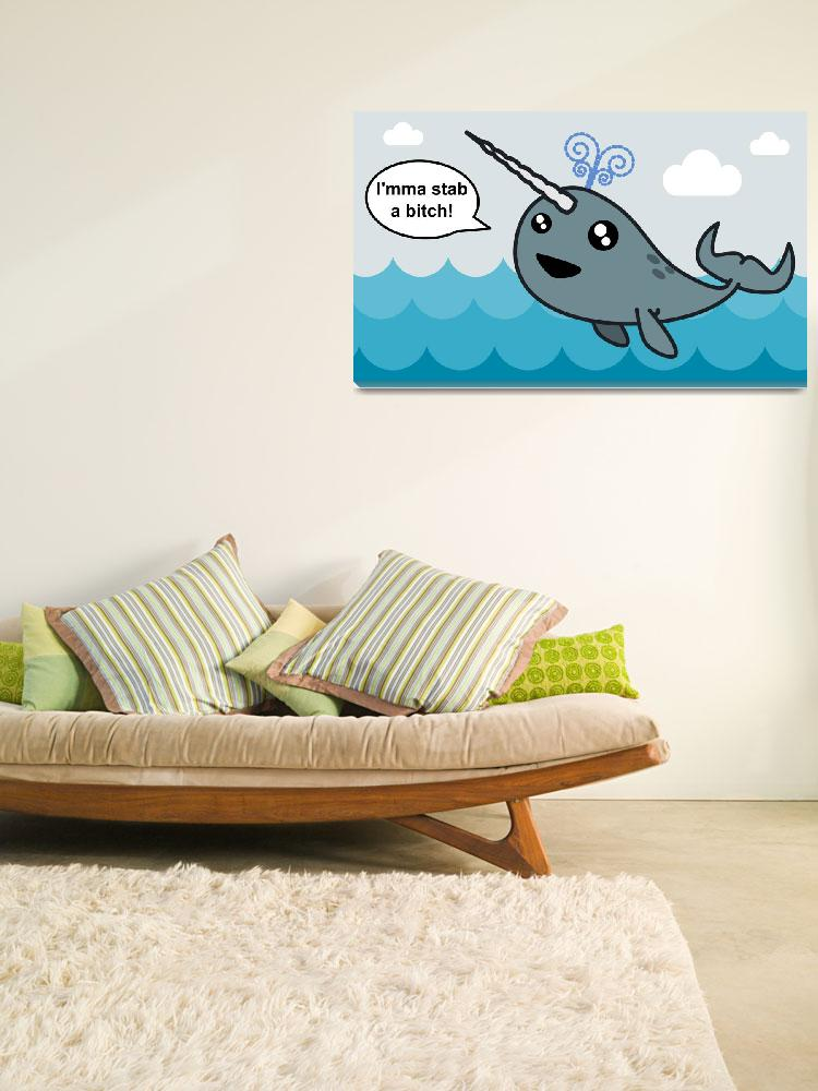 """""""Narwhal!""""  (2010) by frankpena"""